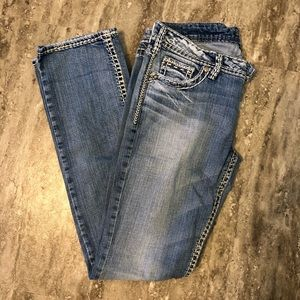 silver brand flare jeans